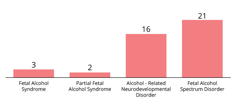 PREVALENCE OF SUSPECTED FASD - Chart